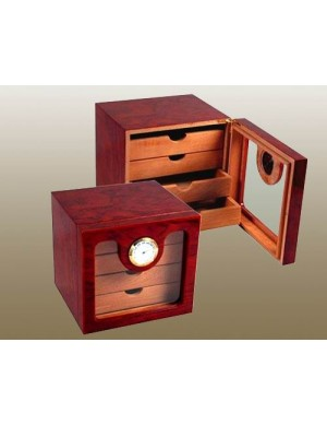 50ct Four Drawer Cigar Humidor