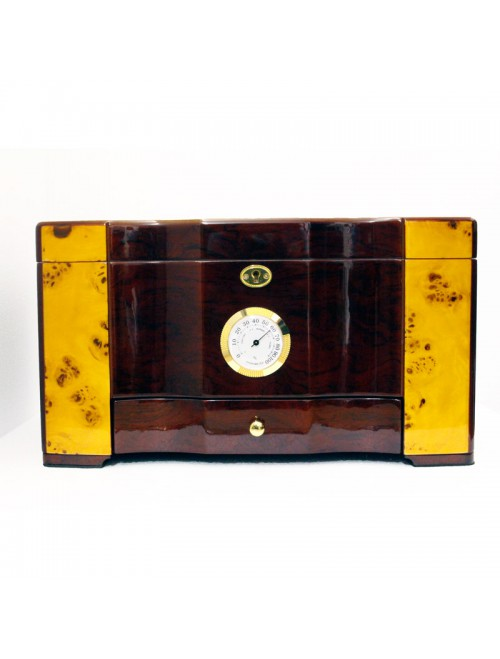 Humidor 120 Rosewood High Gloss Finish