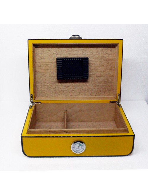Yellow and Black Humidor 40 count